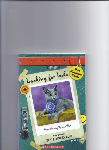 Looking for Lola (Pet Finders Club #3)