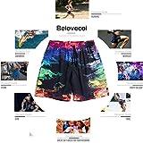 Belovecol Summer Men's Board Shorts 3D Print