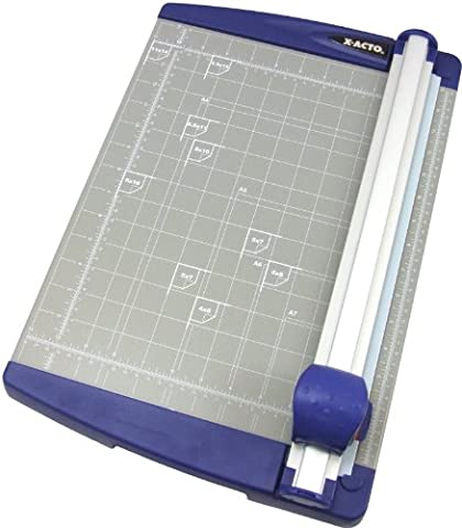 X-ACTO Rotary Paper Trimmer, for Medium Weight Cutting, 26455 (X Acto Rotary Trimmer)