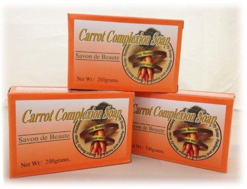 Carrot Complexion Soap (72 Pieces)
