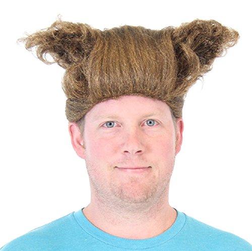 Space Balls Barf Half Man Half Dog Mawg Costume Wig (Barf Spaceballs Costume)