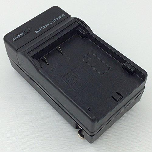 Portable AC PS-BLM1 Battery Charger for OLYMPUS Evolt E3 E5 E500 E510 E520 E300 Digital SLR - E520 Slr Digital Camera