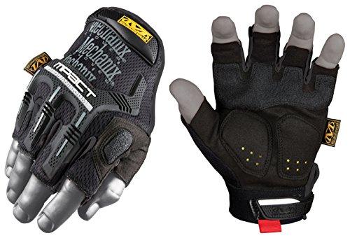 Mechanix Wear M-Pact Fingerless Black/Grey