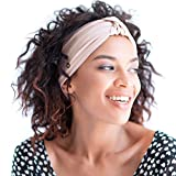 BLOM Multi Style Headband for Sports or Fashion, Yoga or Travel. Happy Head Guarantee Designer Style & Quality (Pink Nude)