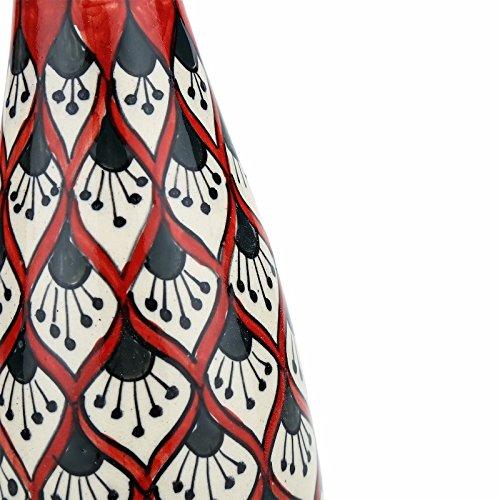 Unravel India ceramic multicolored bottle vase by Unravel India (Image #2)