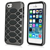 BoxWave HybridCell Apple iPhone 5 Case - 2 Layer TPU and Silicone Protective Case - Apple iPhone 5 Cases and Covers (Grey/Black)