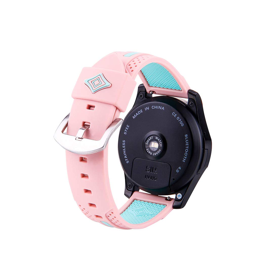 Amazon.com: Saying Colorful Silica Gel Watch Bands with a ...