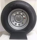 15'' 6X5.5 Silver Modular Trailer Wheel with Radial ST225/75R15 10 PLY Tire Mounted