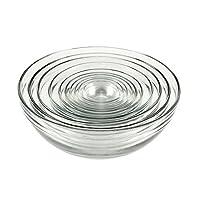 Juego de cuencos de vidrio Hocking de ancla - 10 piezas