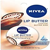 Nivea Lip Care Butter Tin, Cocoa Butter Kiss, .59 Ounce