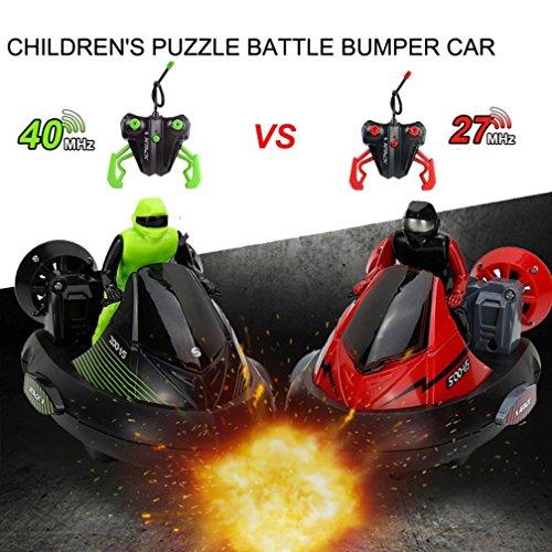 Fiaya 2.4G Remote Control Rechargeable Parent-child Interactive War Battle Bumper Cars