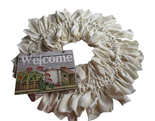 (From The Attic Crafts Welcome Vintage Farmhouse Rag)