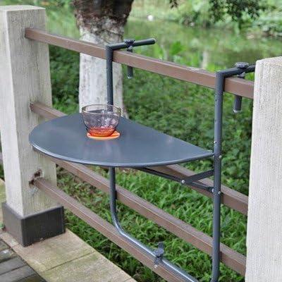 Garden Pleasure Sagar - Mesa Colgante para balcón: Amazon.es ...