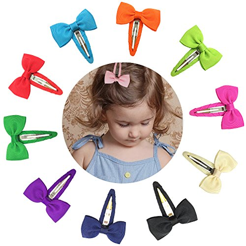 ruyaa-2-baby-girls-small-hair-bows-snap-clips-for-baby-girls-toddlers-kids-10-pairs