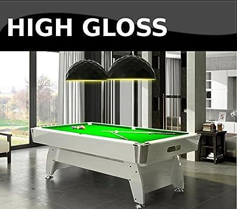 Radley mesa de billar 6 pies diamante de alta brillante + opciones ...