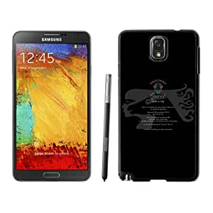 Beautiful Unique Designed Samsung Galaxy Note 3 N900A N900V N900P N900T Cover Case With Gucci 48 Black Phone Case