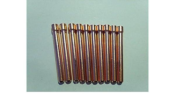 para linterna 17//18//26 Series 1//16 ETA:7-12 d/ías de trabajo 5 piezas de TIG linterna soldador Collet 10N23
