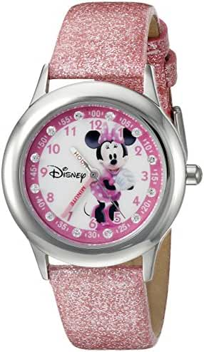 Disney Infinity Kids' W002498 Minnie Mouse Analog Display Analog Quartz Pink Watch