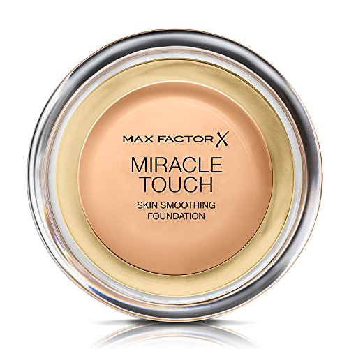 Max Factor Miracle Touch Liquid Illusion Foundation, No.75 Golden, 0.38 Ounce (Max Factor Miracle Touch 75)