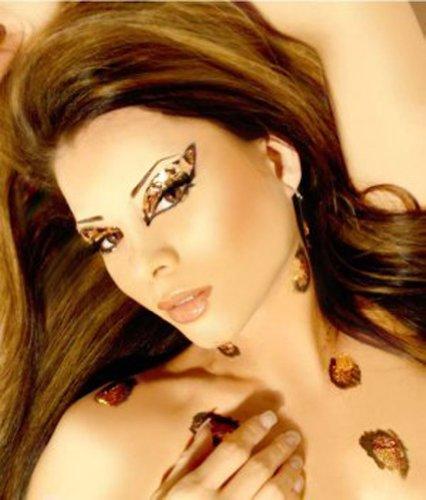 Exotic Eyes Cheetah Reusable Complete Eye Make up Kit by Xotic Eyes