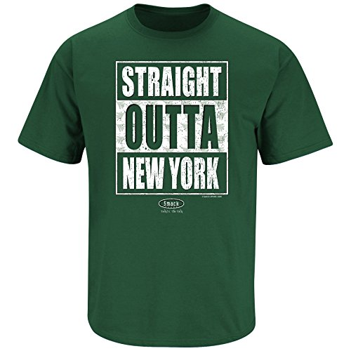 New York Jets Fans. Straight Outta New York Forest T-Shirt
