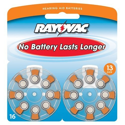 Rayovac Premium Battery Hearing batteries