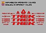 Ecoshirt 48-S05N-XLCJ Stickers Trek Fuel Ex 9.9 Bikes F144 Stickers Aufkleber Decals Autocollants Adesivi MTB BTT, Red