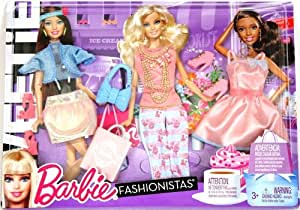 barbie shopping games fashionistas doll clothes sweetie 10081