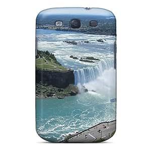 New Style MeSusges Hard Case Cover For Galaxy S3- Horseshoe Falls 9996 wangjiang maoyi