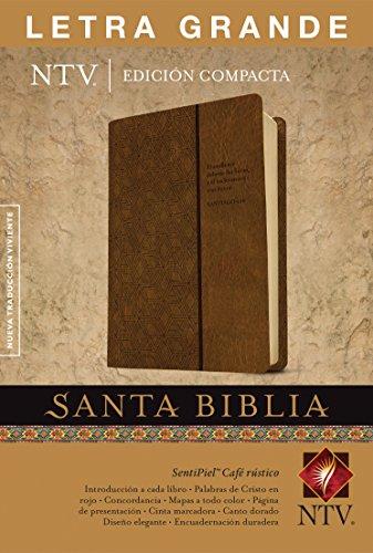 Santa Biblia NTV, Edición compacta letra grande (Spanish Edition)