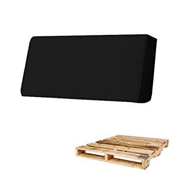 Arketicom Pallett One - Respaldo Cojin para Sofa hecho en Euro Palet - Polipiel con Funda Desenfundable y Espuma de Poliuretano Alta Densidad ...