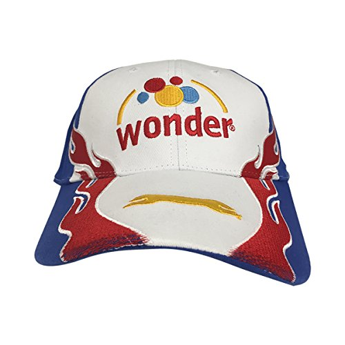 Wonder Trucker Hat Bread Ricky Bobby Talladega Nights Costume Hat Racecar (Talladega Nights Ricky Bobby Costumes)