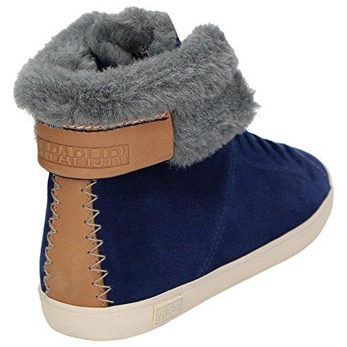 Napapijri0774760 - Zapatillas altas Mujer Azul - azul medianoche