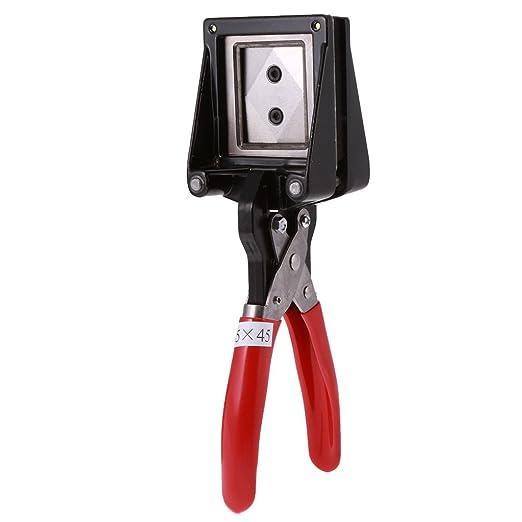 walimex PS 35x45 mm Pinzatrice per fototessere