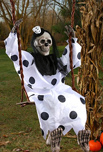 Swinging Dead Clown Hanging Prop -