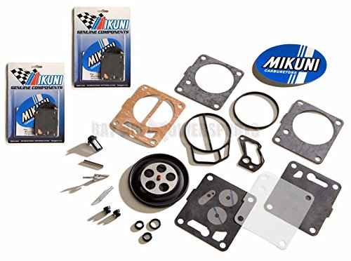 Mikuni Rebuild Kits (Genuine Mikuni Dual Carb Carburetor Rebuild Kit Sea Doo SP SPX GS HX GTS 717 720)