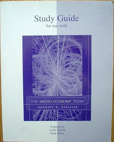 study guide printed t a the micro economy today 10e 9780073042213 rh amazon com Microeconomics Cheat Sheet Microeconomics vs Macroeconomics