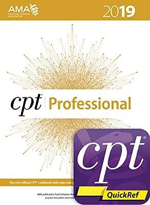 CPT 2019 Professional Codebook + CPT Quickref App Package