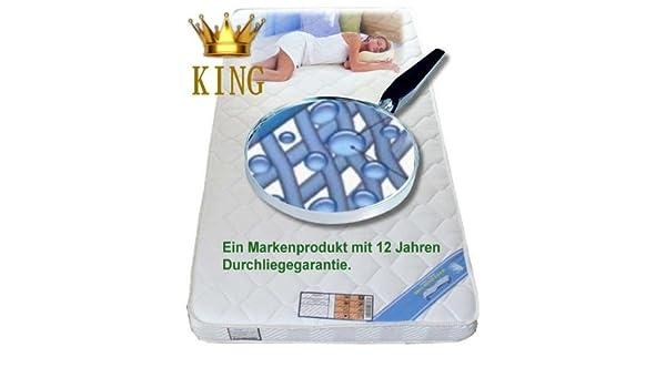 Firma Knowhow Gel colchón de Espuma 140 x 190 gelmatratze Bayscent King: Amazon.es: Hogar