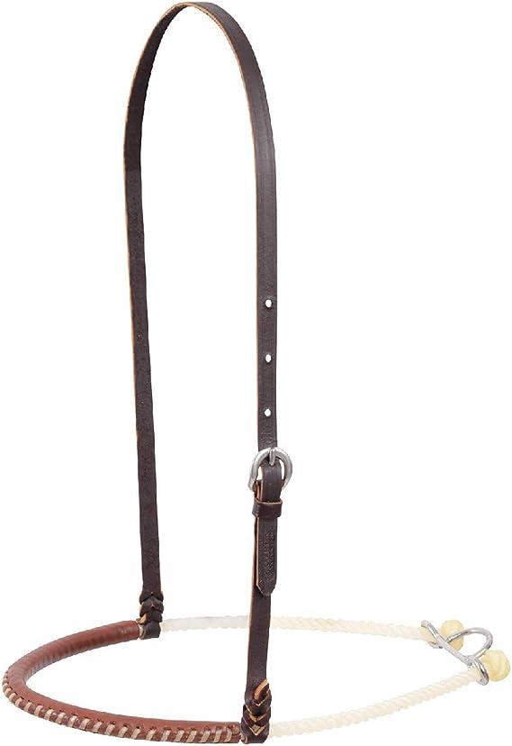 Martin Saddlery Single Rope NAT Nb Cover Running S Border ro