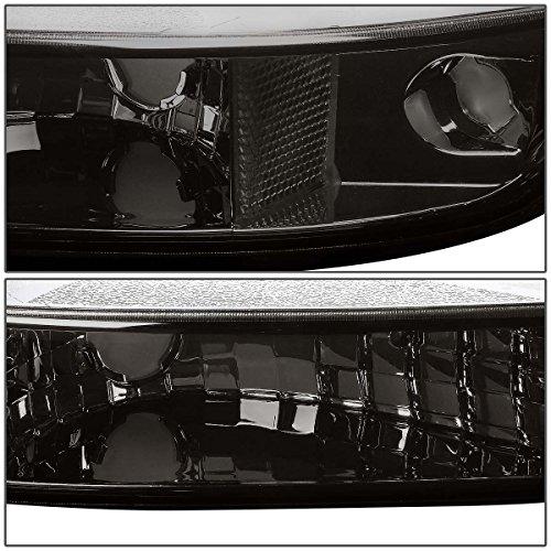 For GMC Sierra/Yukon GMT800 Headlight+Bumper Light Kit (Smoke Lens Clear Corner)