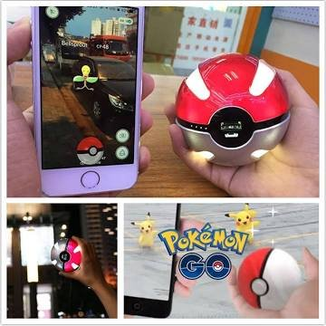 New Version- Pokemon go Pokeball Charger 50000mah portable charger usb power bank
