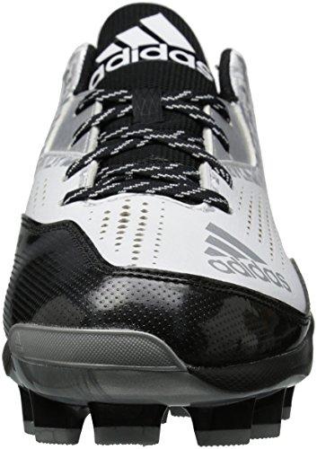 Chaussure Adidas Homme Freak X Carbone Mi-bas Blanc / Noir / Argent Métallisé