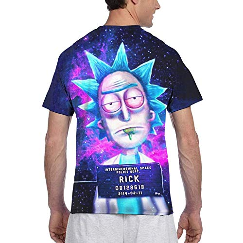 Celepex Rick and Morty - Camisetas de manga corta para hombre