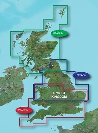 Garmin Topo Great Britain Southern England Wales Map Microsd Sd