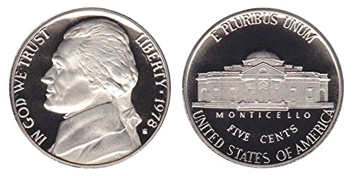 1978 S Proof Clad Jefferson Nickel PF1