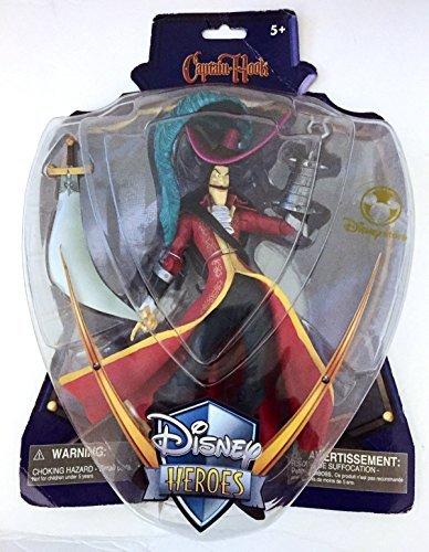 Disney Heros Peter pan Series : Captain Hook Action Figure Figurine by Disney