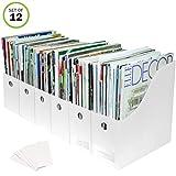 Evelots Magazine File Holder-Organizer-Full