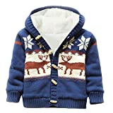Product review for LLQ Baby Girl Clothes Toddler Sweater Boy Christmas Cardigan Winter Jacket Kid Coat