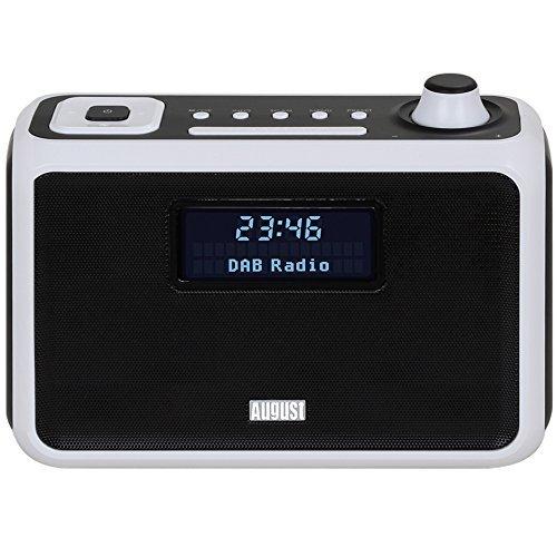 163 opinioni per August MB400W Radiosveglia Digitale FM/DAB/DAB+ e lettore MP3 con Altoparlante
